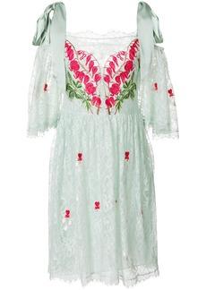 Temperley London Potion mini dress - Green