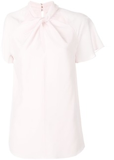 Temperley London Purity twisted blouse - Pink & Purple