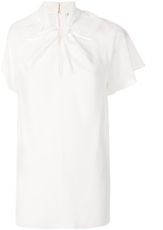 Temperley London Purity twisted blouse - White