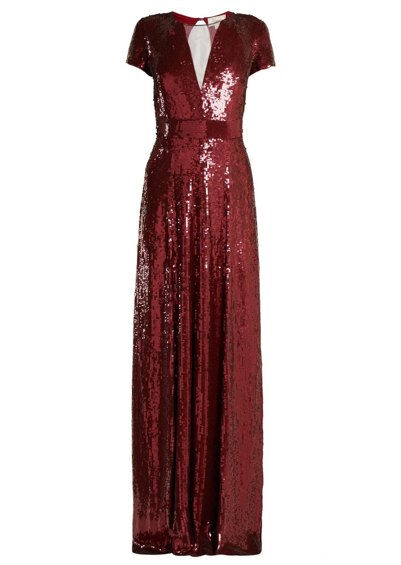 36d4e965673 Temperley Temperley London Ray sequined gown