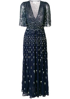 Temperley London Riviera dress - Blue