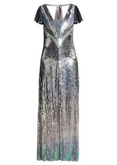 Temperley London Ruth ombré-sequinned gown