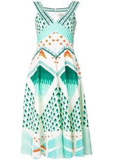 Temperley London Sunrise dress - Green