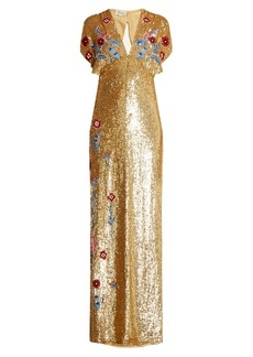 Temperley London Wild Horse sequin-embellished gown