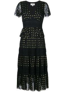 Temperley London Wondering lace dress - Black