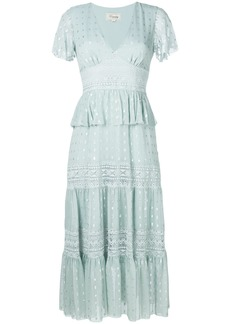 Temperley London Wondering lace dress - Green