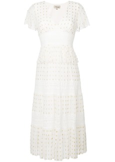 Temperley London Wondering lace dress - White