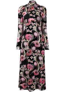 Temperley Tippi floral-print midi dress