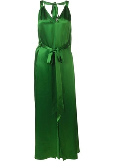 Temperley V neck dress