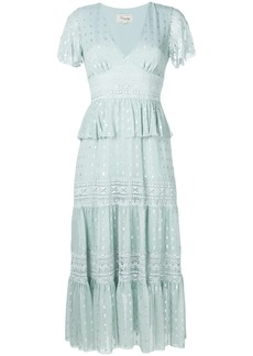 Temperley Wondering lace dress