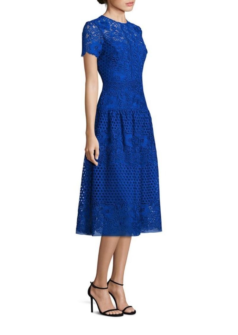 b128556227 Teri Jon Teri Jon by Rickie Freeman All Over Lace Dress