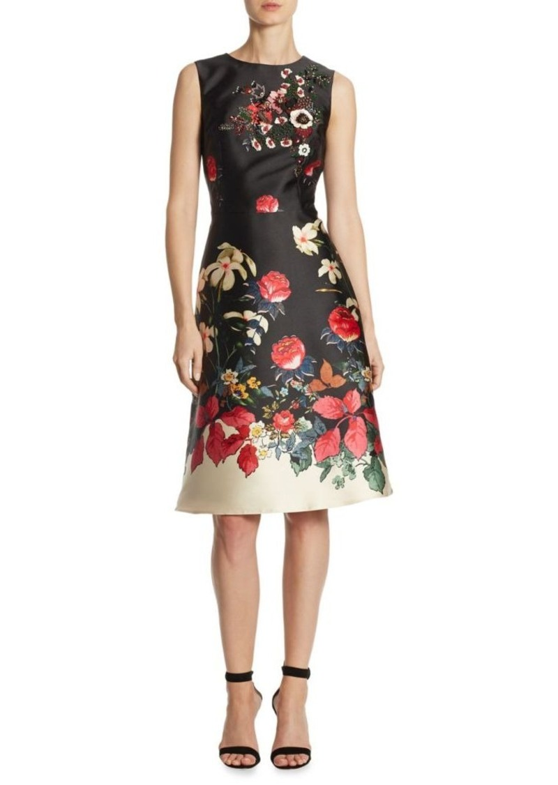5e12d448c76 SALE! Teri Jon Teri Jon by Rickie Freeman Floral Satin Dress