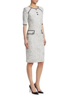Teri Jon Tweed Knit Dress