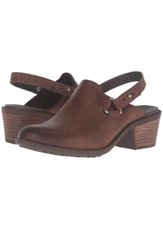 Teva Foxy Clog Leather
