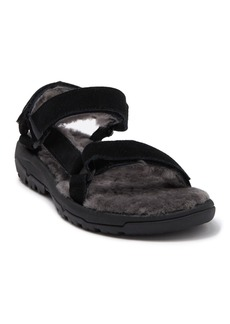 Teva Hurricane Genuine Shearling Lined Sandal