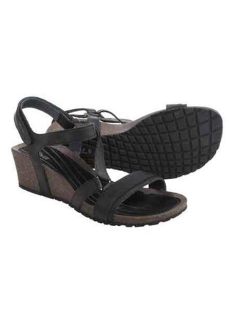 bf5183de42c SALE! Teva Teva Cabrillo Crossover Wedge Sandals - Leather (For Women)