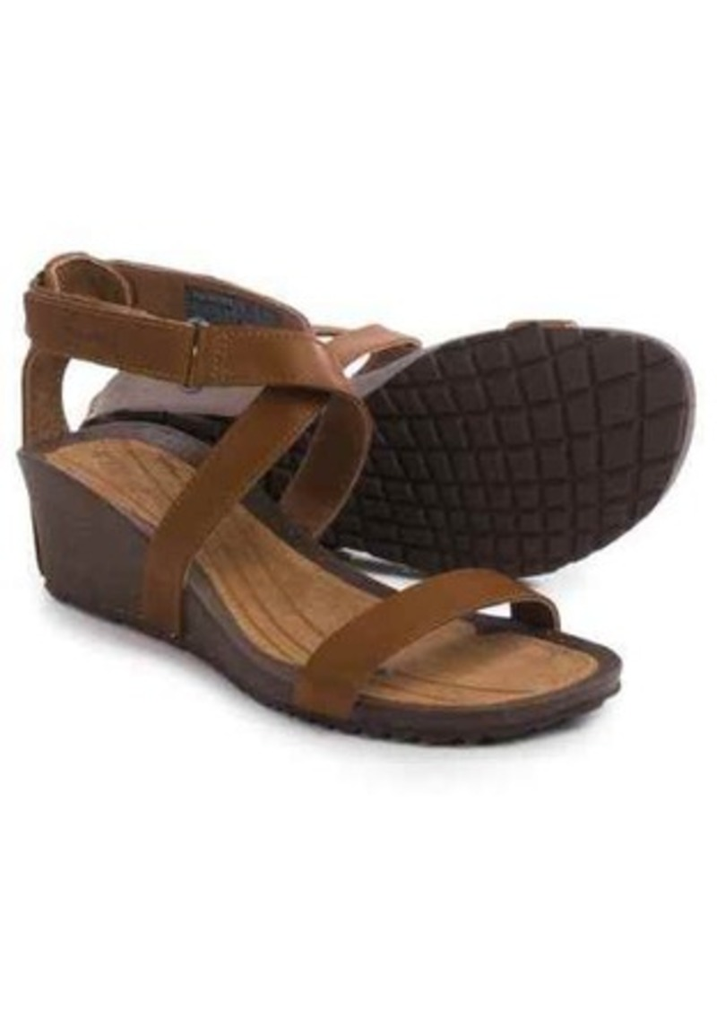 843ee7876f2d5b Teva Teva Cabrillo Strap Wedge 2 Sandals - Leather (For Women)