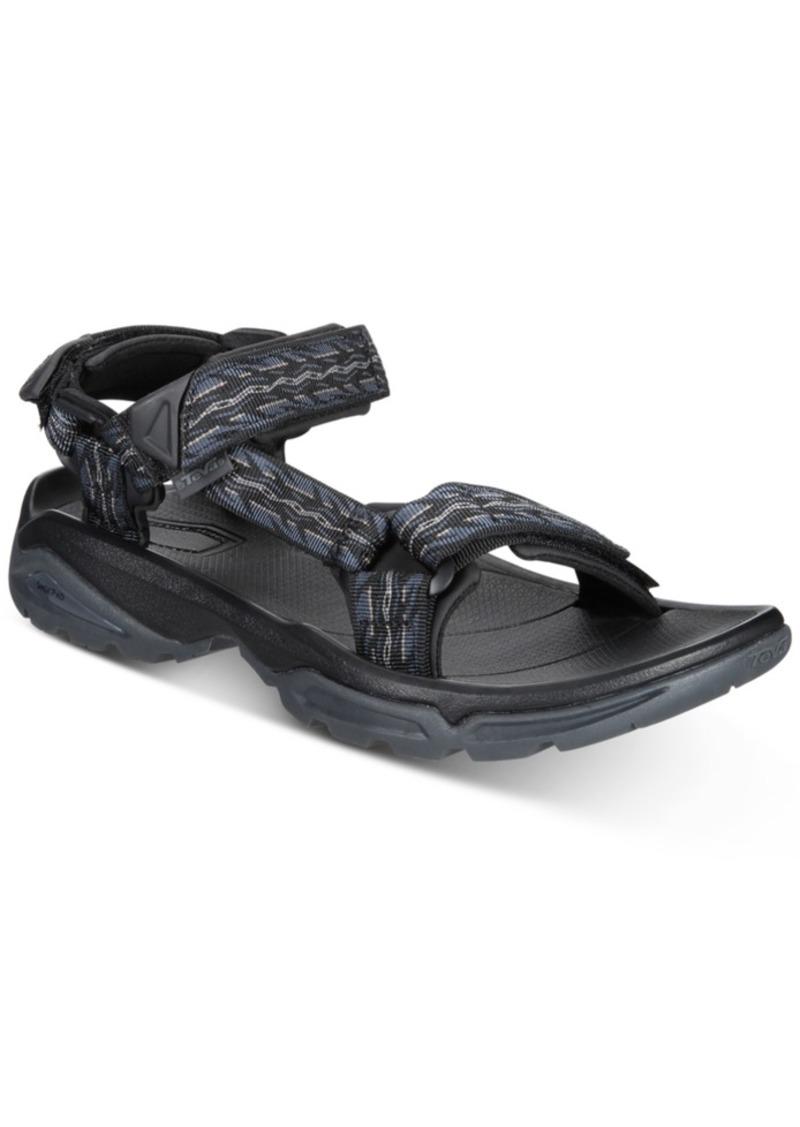 Teva Men's M Terra Fi 4 Water-Resistant Sandals Men's Shoes