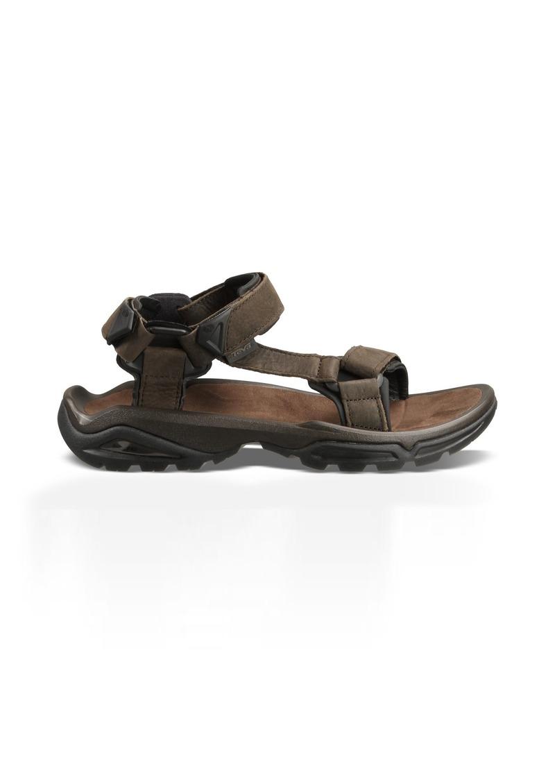 Teva Men's Terra FI 4 Leather Sandal   Medium US