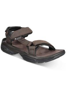 Teva Men's Terra Fi 4 Water-Resistant Leather Sandals Men's Shoes
