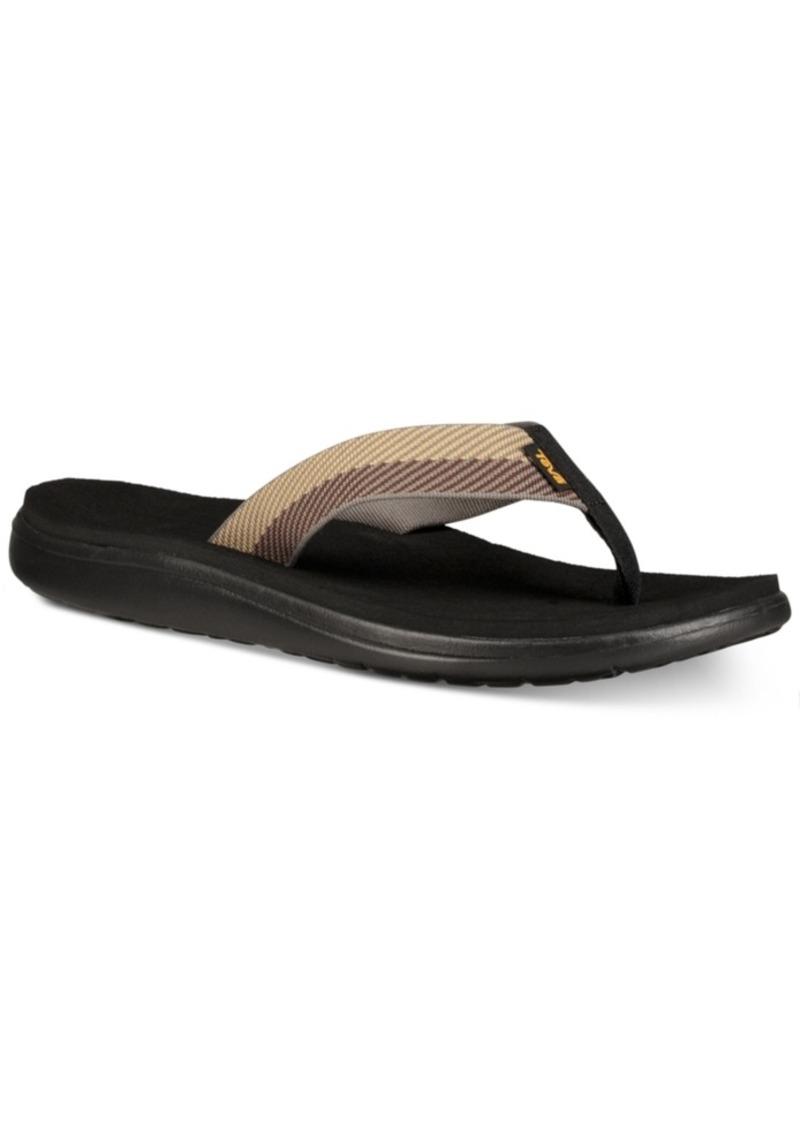 Teva Men's Voya Flip-Flop Sandals Men's Shoes