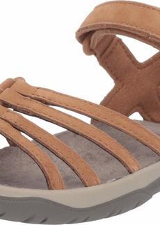 Teva Women's ELZADA Sandal LEA   Medium US