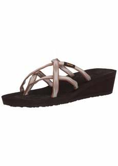 Teva Womens W MUSH Mandalyn Wedge Ola 2 Sandal   Medium US