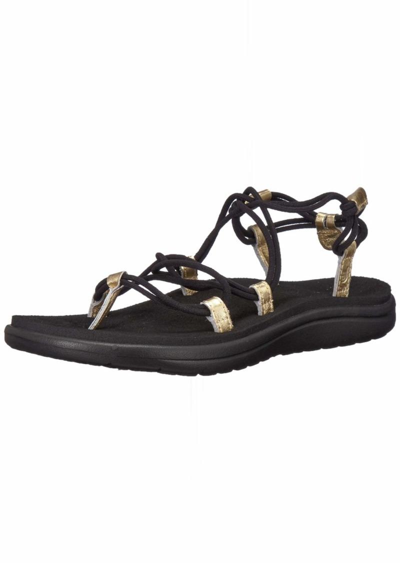 Teva Women's W VOYA Infinity Metallic Sandal  0 M US