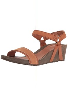 Teva Women's W Ysidro Stitch Wedge Sandal