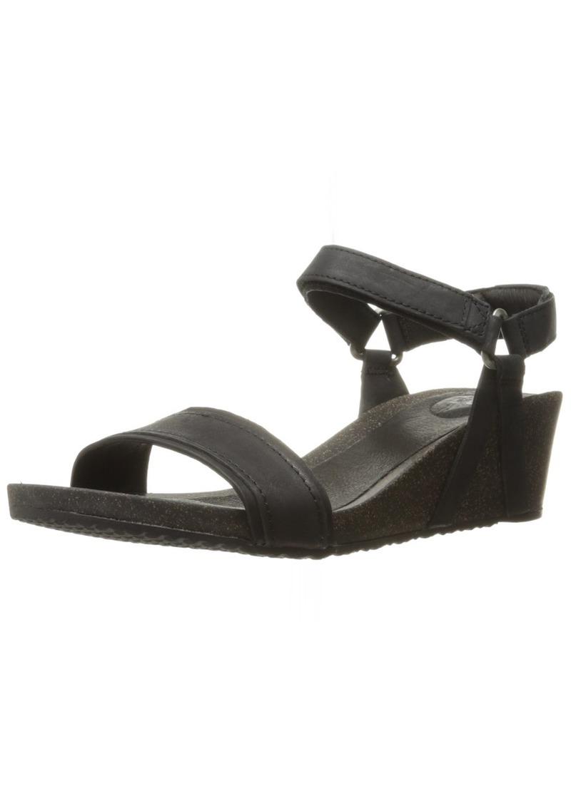 Teva Women's W Ysidro Stitch Wedge Sandal   M US