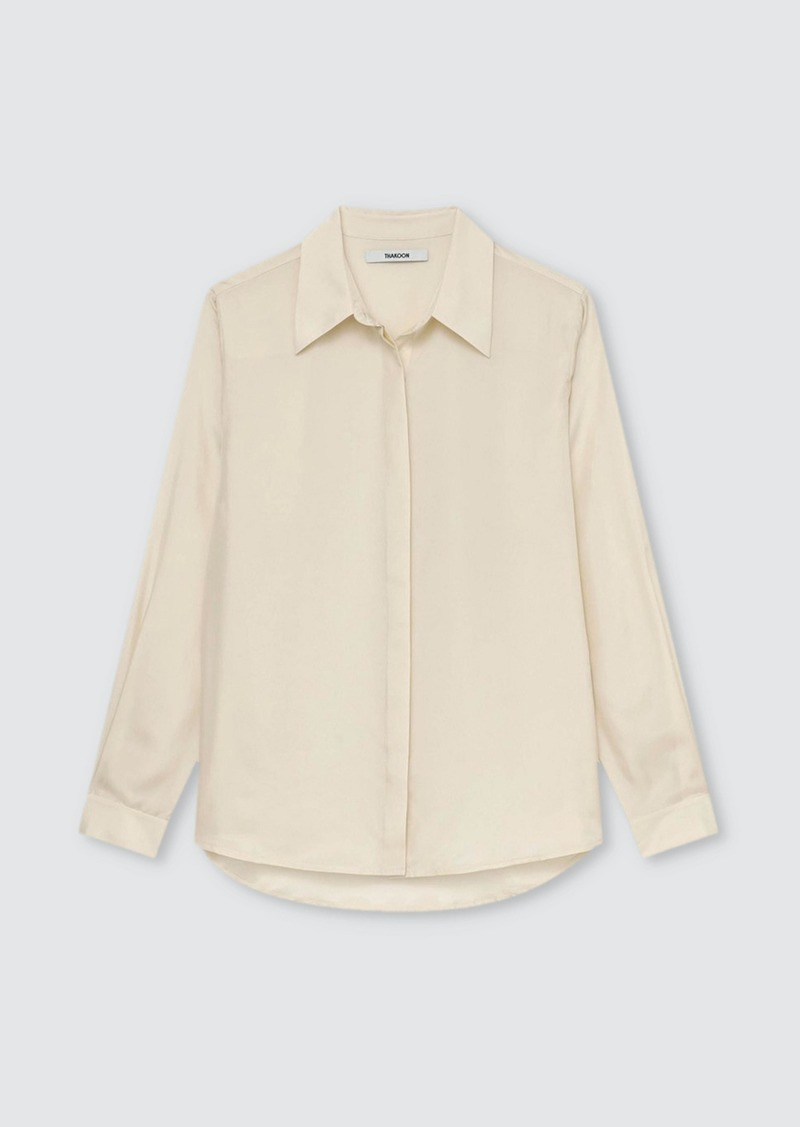 Thakoon Classic Silk Buttondown Shirt - XS - Also in: S, M