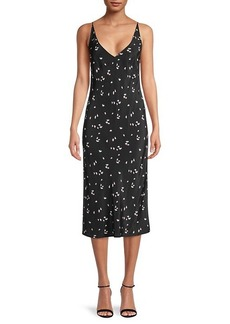 Thakoon Floral Midi Slip Dress