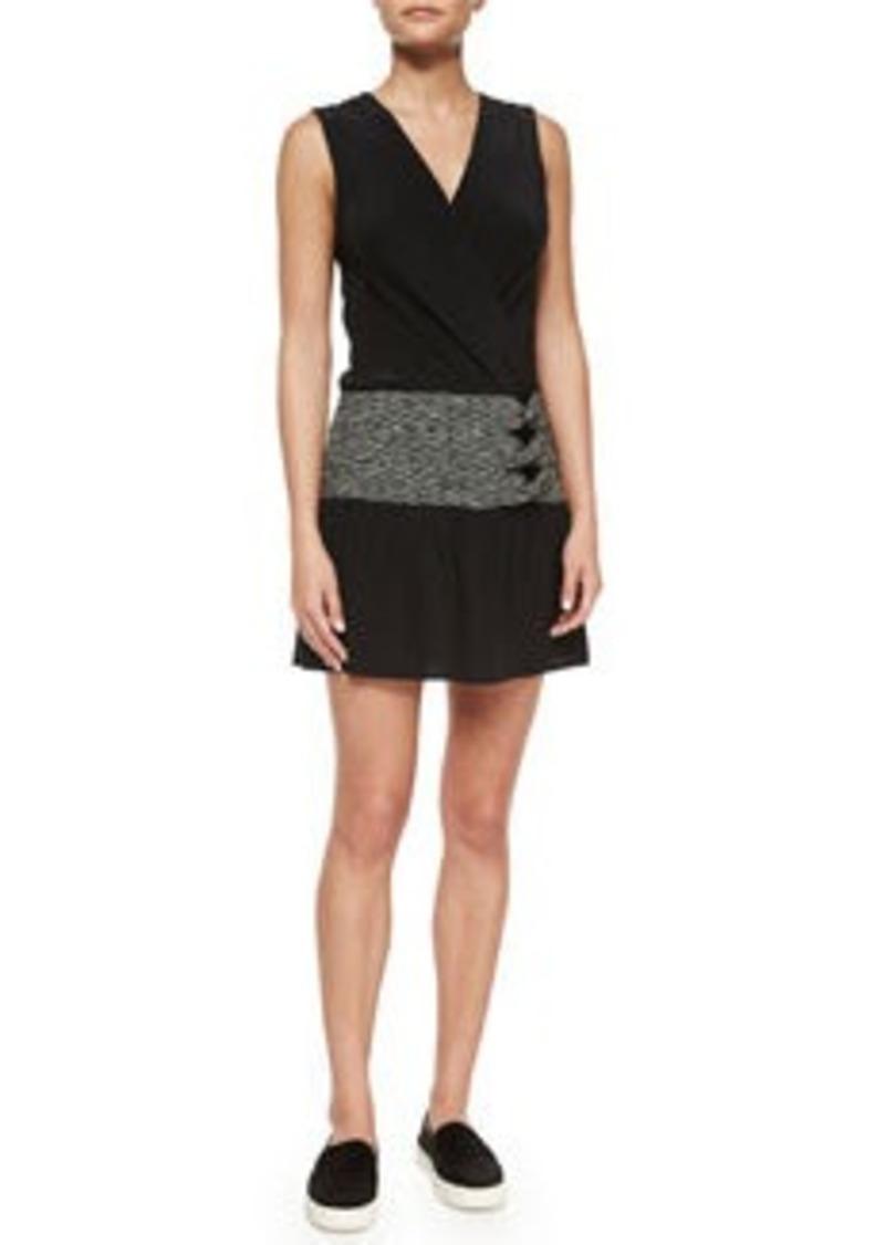 Thakoon Addition Sleeveless Side-Twist Dress