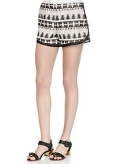 Thakoon Tribal-Pattern Relaxed Shorts