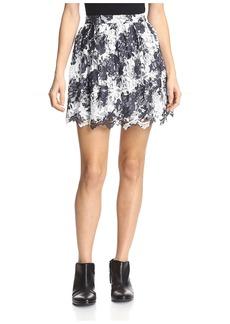 Thakoon Addition Women's Lace Skirt   US