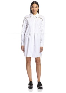 Thakoon Addition Women's Shirtdress with Lacing   US