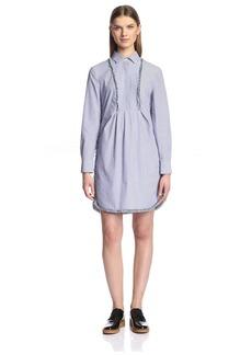 Thakoon Addition Women's Striped Shirt Dress   US