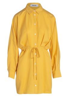 Thakoon Belted Long Sleeve Shirtdress