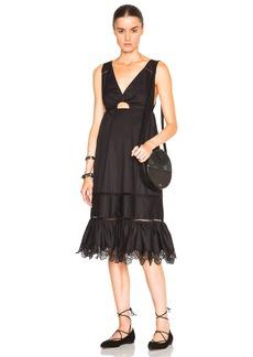 Thakoon Crochet Inset Dress