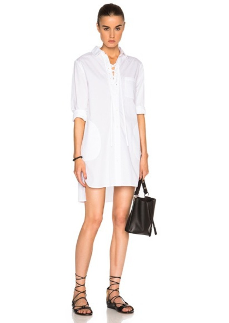 Thakoon Lace Up Shirt Dress