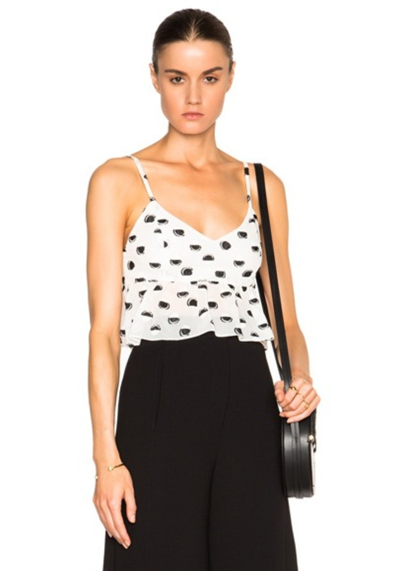 Thakoon Peplum Crop Top