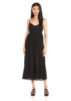 Thakoon Women's Lace Insert Maxi Dress