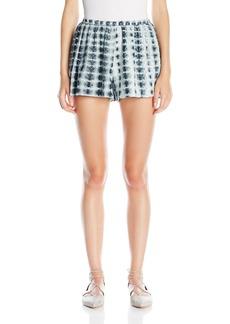 Thakoon Women's Printed Eyelet Shorts