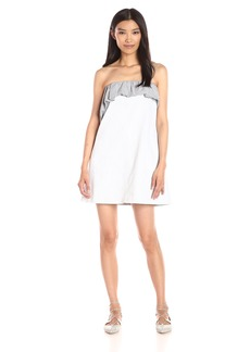 Thakoon Women's Ruffle Mini Dress
