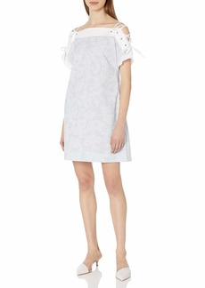 Thakoon Women's Short Sleeve Pullover Dress