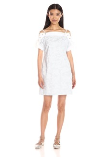 Thakoon Women's Short Sleeve Pullover Dress