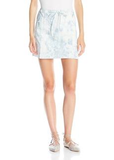 Thakoon Women's Tie Dye Mini Skirt with Lacing Detail