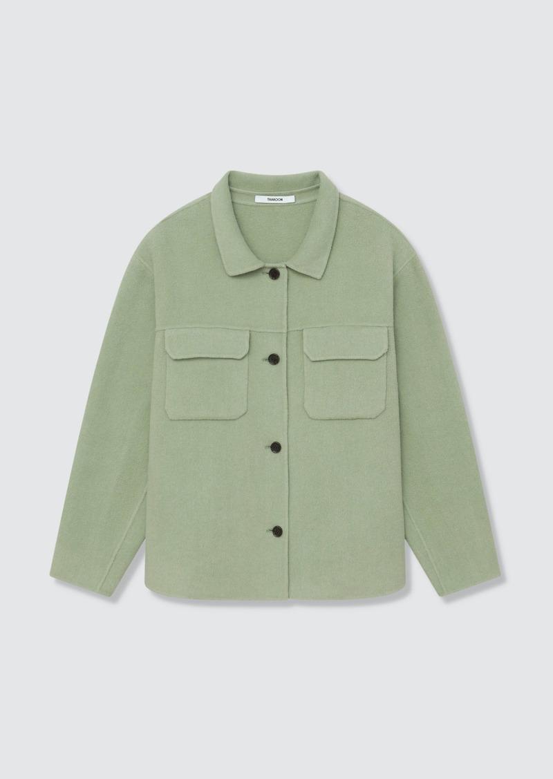 Thakoon Wool Blend Shirt Jacket - XS - Also in: XL, L, M