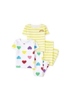 The Children's Place 4-Piece Pajama Set (Little Kids/Big Kids)