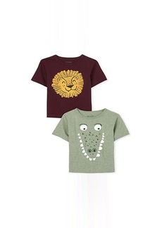 The Children's Place Animals Graphic Tee 2-Pack (Infant/Toddler)